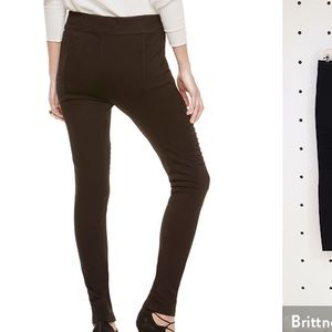 NWT Two by Vince Camuto ponte leggings brown